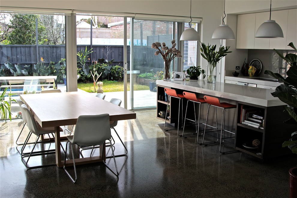 St Kilda Home - Contemporary - Kitchen - Melbourne - by ...