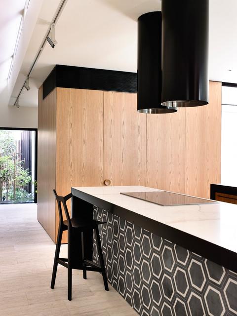 St Kilda West contemporary-kitchen