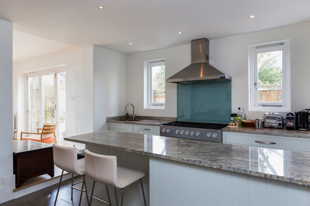 St Leonards Rd East Sheen Sw14 Contemporary Kitchen