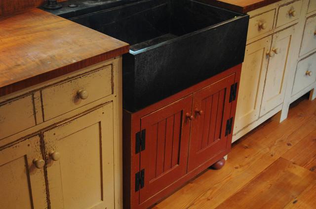 St. Louis 10 primitive Log Cabin Kitchen Bar Bathroom Vanities ...