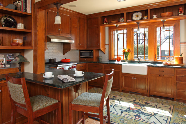 St paul bungalow remodel craftsman kitchen minneapolis by