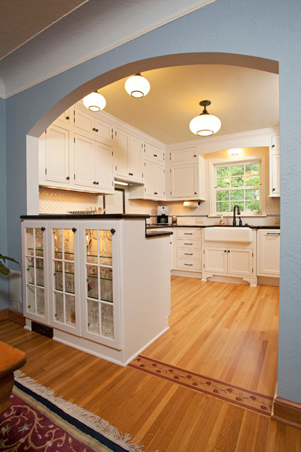 St.Paul Charming update to 1940's Kitchen - Traditional ...