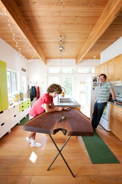 St Paul Minnesota Home Contemporary Kitchen Minneapolis By Citydeskstudio Inc