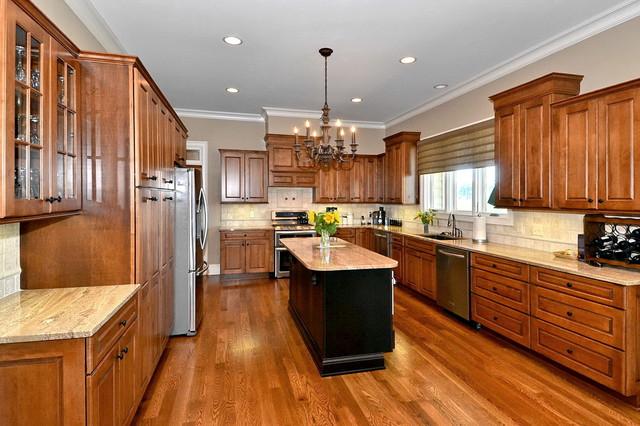 Nungesser Residence traditional-kitchen