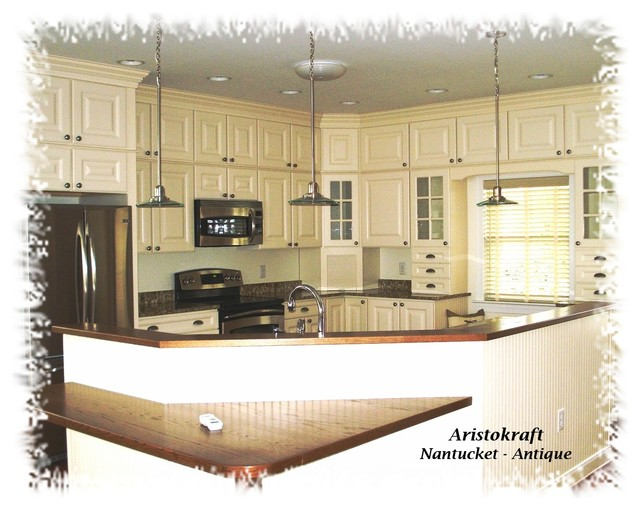 Stacking Stock Cabinets Traditional Kitchen Dc Metro By Creative Karpet Kitchen