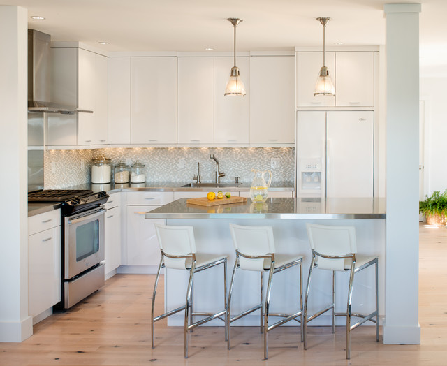 Stageneck Modern - Beach Style - Kitchen - portland maine ...