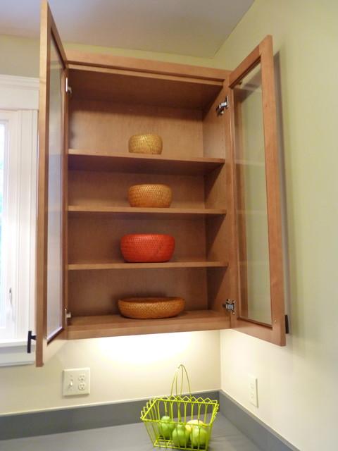 Stained Chestnut Maple Kitchen modern-kitchen