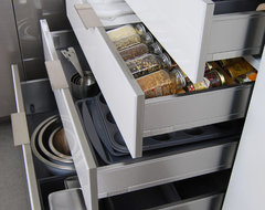 Stainless Steel Drawers and Roll-Out Shelves from Dura Supreme contemporary-