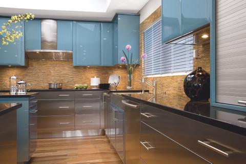 Stainless Steel Modern Hamptons Kitchen modern-kitchen