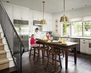 take a seat at the new kitchen table island - Kitchen Table Counter