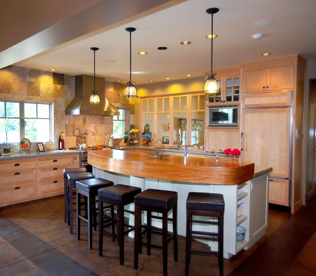 Stanwood Residence eclectic-kitchen