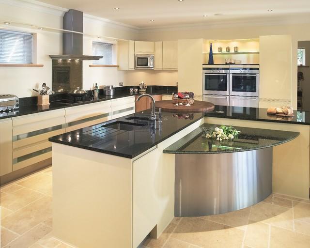 Star Galaxy Granite Kitchen Worktop Contemporary Kitchen