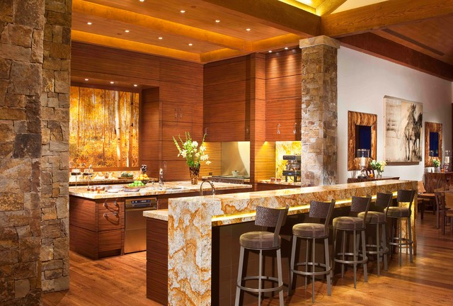 Star Mesa contemporary-kitchen