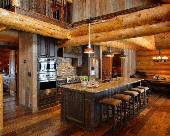Cabin Lighting Home Design Ideas, Pictures, Remodel and Decor