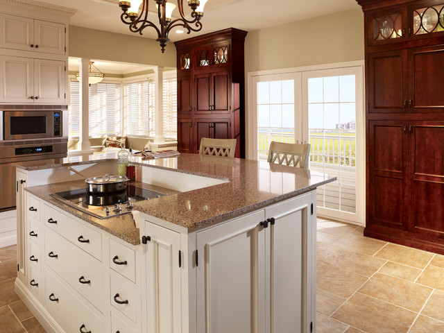 Merveilleux StarMark Cabinetry Kitchen In Alexandria Inset Door Style In Maple U0026 Cherry  Traditional Kitchen