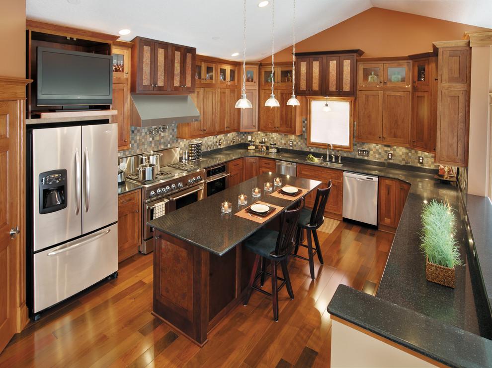 StarMark Cabinetry Kitchen in Fairhaven inset door style ...