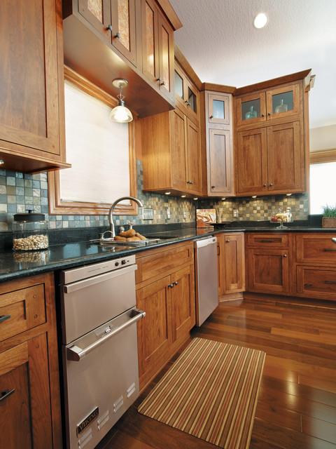 Starmark Cabinetry Kitchen In Fairhaven Inset Door Style