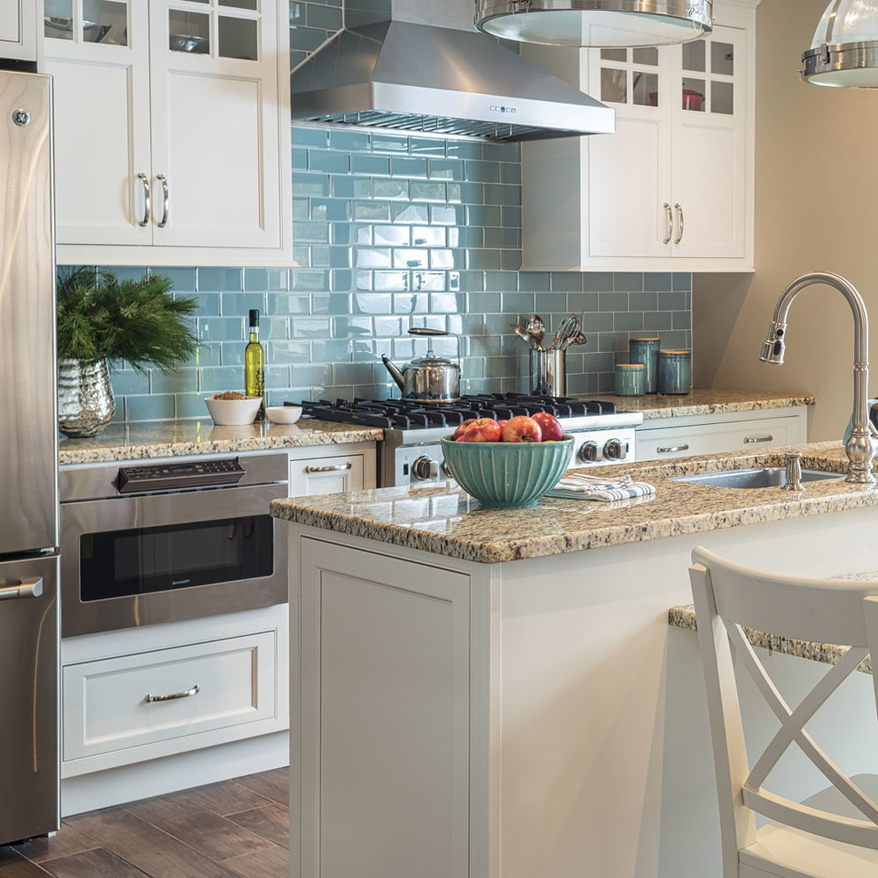 Starmark Cabinetry Traditional Inset Kitchen In Marshmallow Cream Traditional Kitchen Other By Starmark Cabinetry