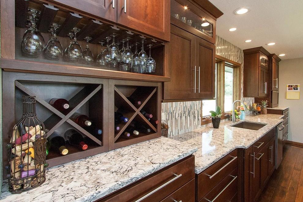 Starmark Cabinets Wine Rack, Kitchen Cabinets Wine Rack