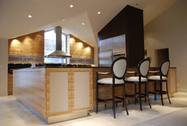 Contemporary Kitchen by Cabinet Concepts, Greensboro