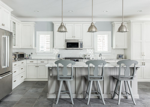 Aspen White Granite For A Timeless Kitchen Design | Aqua Kitchen U0026 Bath  Design Center