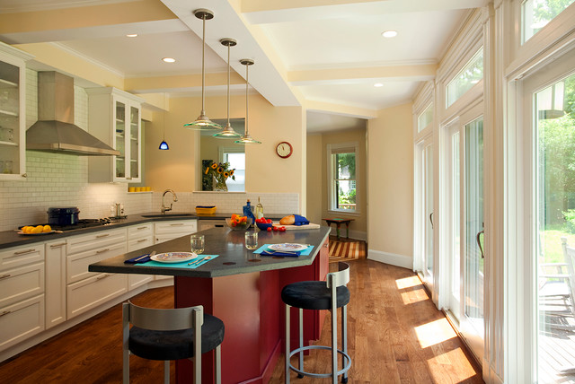 Stately Splendor traditional-kitchen