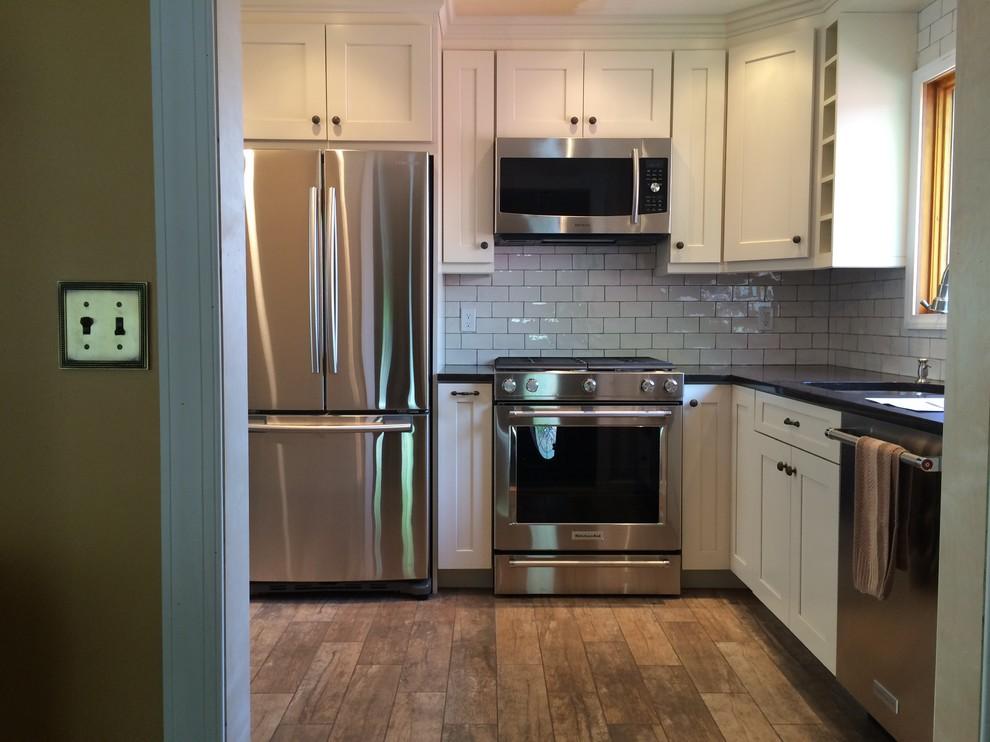 Staten Island kitchen renovation - Transitional - Kitchen ...