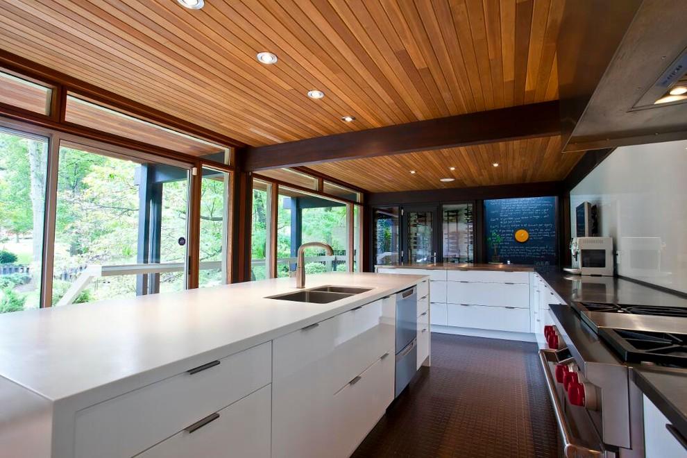 Staten Island, New York - Contemporary - Kitchen - New ...