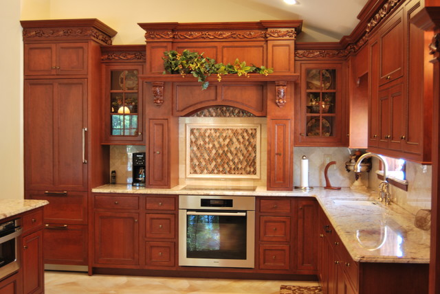 Staten Island Raised Ranch Kitchen Traditional Kitchen