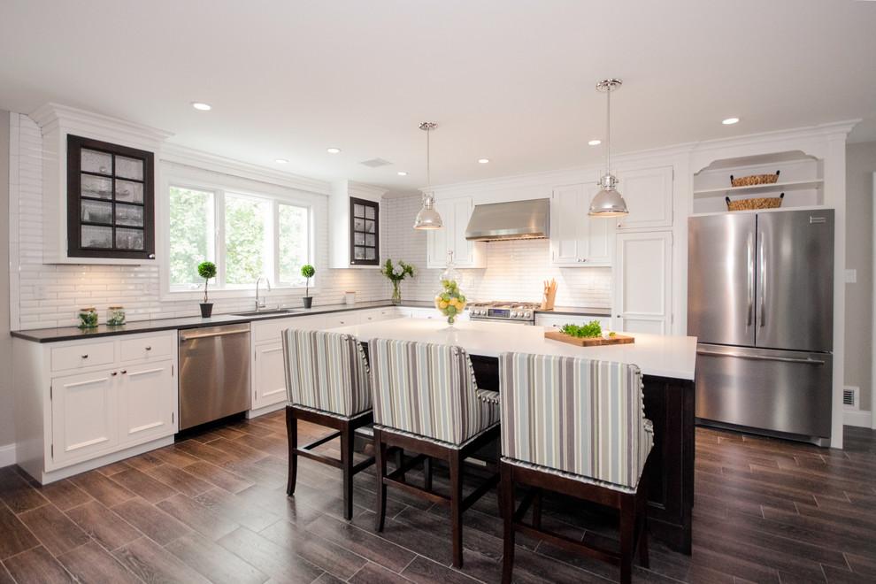 Staten Island Traditional Kitchen Renovation - Traditional ...