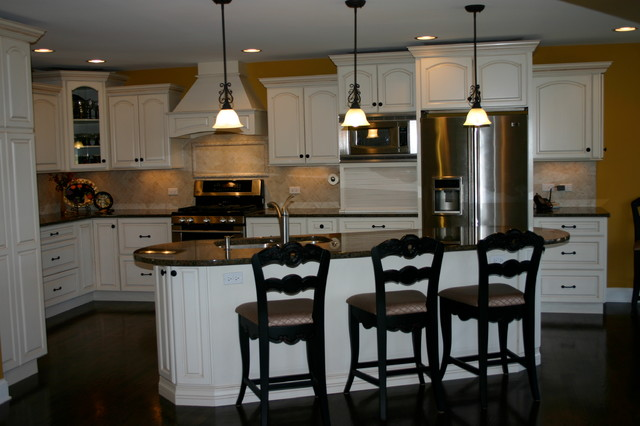 stauton road naperville il traditional kitchen chicago by cabinets 4u inc. Black Bedroom Furniture Sets. Home Design Ideas