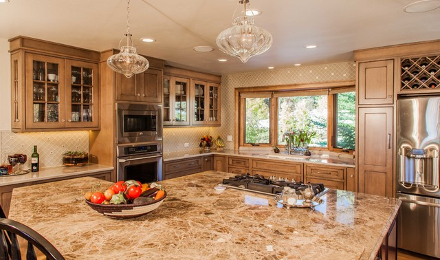 Steamboat springs residence traditional kitchen denver by cwc designs for Kitchen design colorado springs