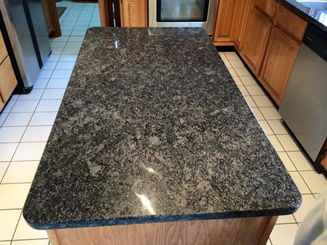 Steel Grey Granite Kitchen Indianapolis By Indy