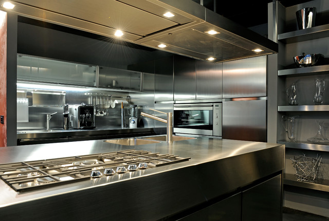 contemporary kitchen by Marco Dellatorre