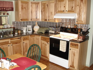 Steep Falls Kitchen Classics Denver Hickory Traditional Kitchen Portland By Lowes