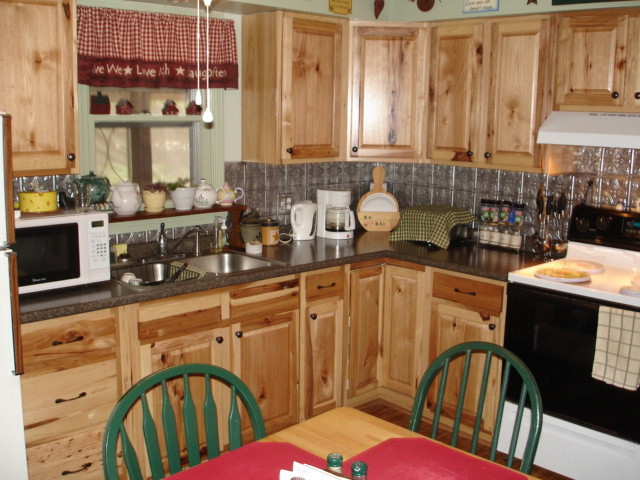 Steep Falls Kitchen Classics Denver Hickory American Traditional Kitchen Portland By Lowes