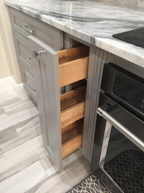 Sterling Jarlin Cabinets Modern Kitchen Other Metro