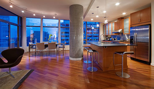 Stewart Residence Seattle Modern Kitchen Seattle
