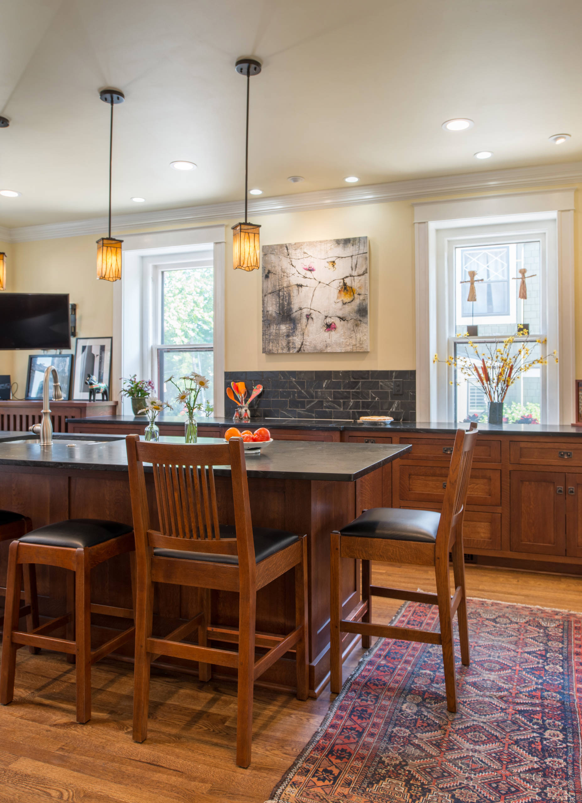 Stickley Inspired Kitchen