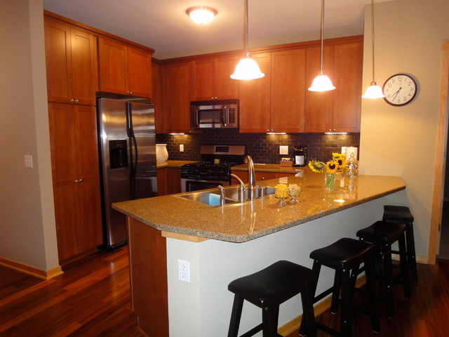 Stillwater Mills Condo Modern Kitchen Minneapolis By Rg Construction Consulting