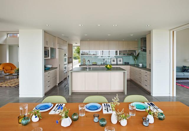 Stinson Beach Residence modern-kitchen