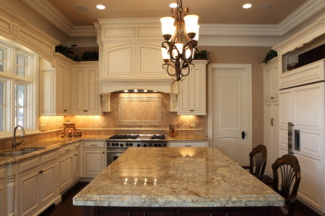 stone amp cedar traditional kitchen chicago by