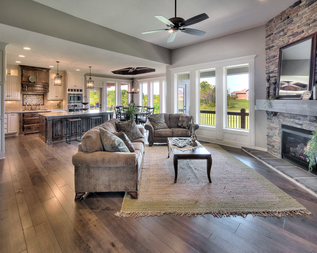 Stone Canyon subdivision in Blue Springs, MO - Traditional - Kitchen - kansas city - by Dreams ...
