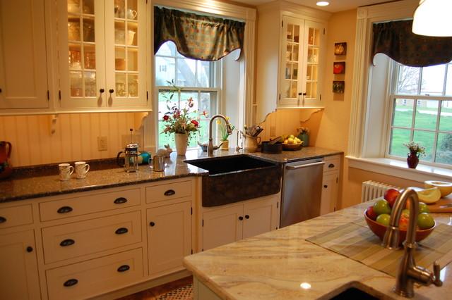 Stone Farmhouse Kitchen Sinks : Stone farmhouse sink - Traditional - Kitchen - philadelphia - by Kevin ...