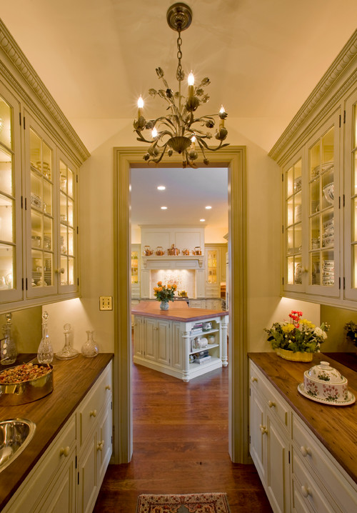 10 butler 39 s pantry ideas town country living for Country kitchen pantry ideas