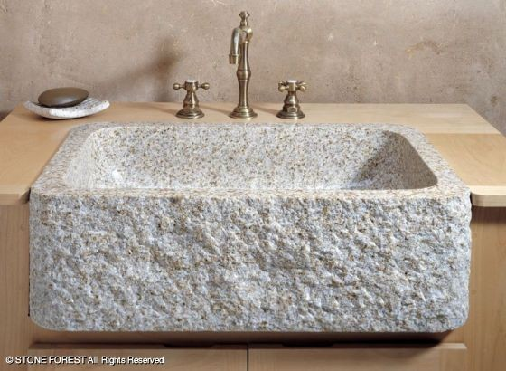 Stone Forest Farmhouse Sinks - Traditional - Kitchen Sinks - houston ...