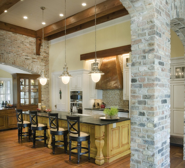 Charmant Inspiration For A Timeless Galley Medium Tone Wood Floor And Brown Floor  Kitchen Remodel In Nashville