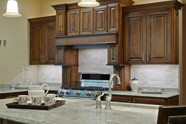 Stone Showroom traditional kitchen