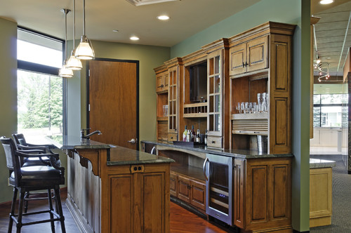 What height is the breakfast bar from the floor ?