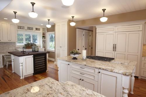 Stonebreaker Builders Frank Lloyd Wright Remodel traditional kitchen